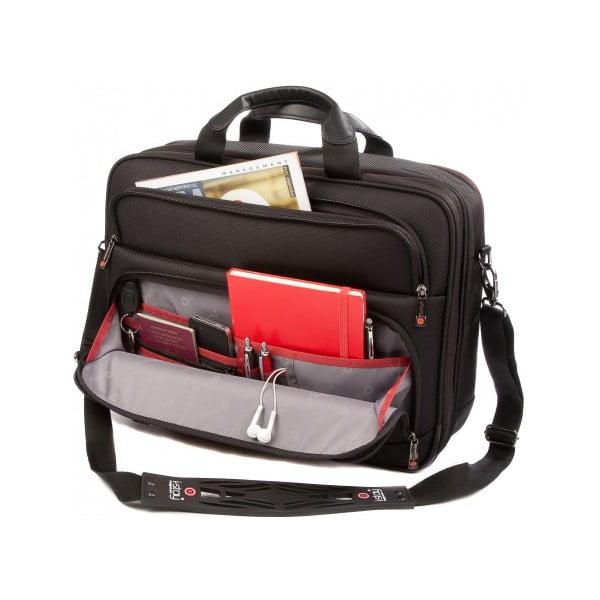 Taška na notebook i-stay Fortis, čierna