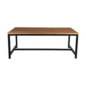 Jedálenský stôl s doskou z mangového dreva LABEL51 Brussel, 220×96 cm
