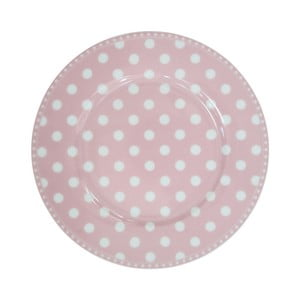 Dezertný tanier Krasilnikoff Dot Pink