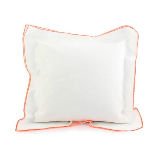 Obliečka na vankúš Basic Fluor orange, 40 x 40 cm