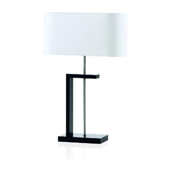 Stolová lampa Nateza, čierna
