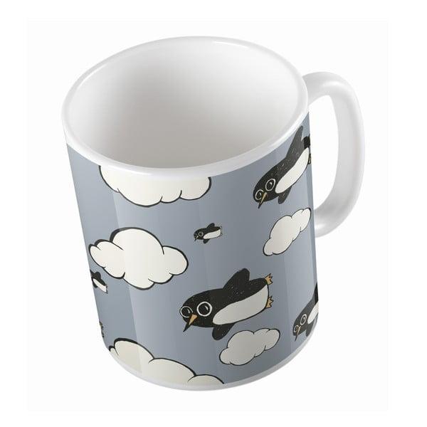 Keramický hrnček Flying Penguins, 330 ml