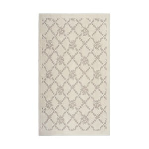 Hnedý bavlnený koberec Floorist Sarmasik, 100x200cm