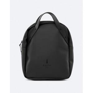 Čierny batoh s vysokou vodoodolnosťou Rains Go