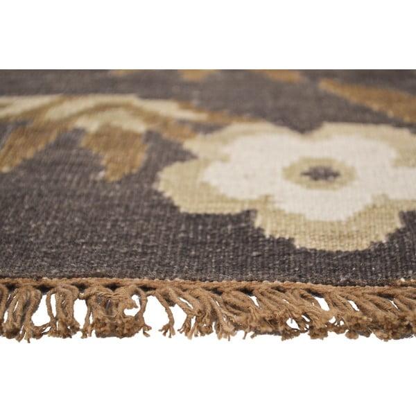 Vlnený koberec Kilim Floral 165, 155x240cm