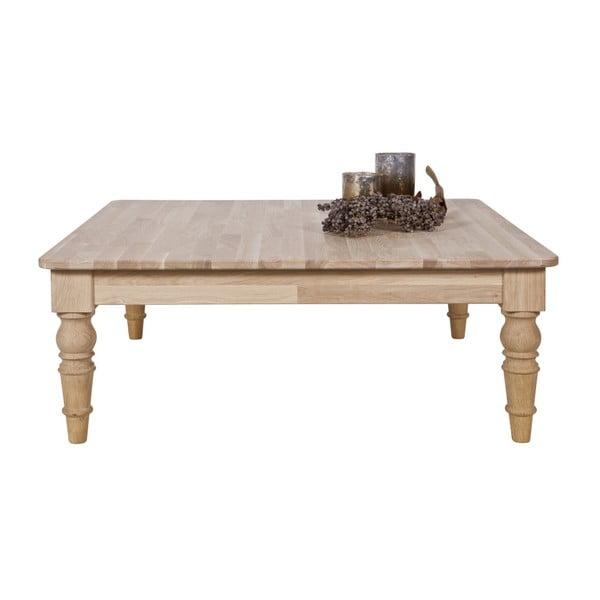 Konferenčný stolík z dubového dreva WOOOD Qwint