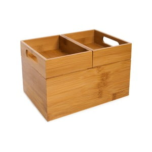 Bambusový úložný box Bambum Javier