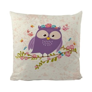 Vankúš Flower Owl, 50x50 cm