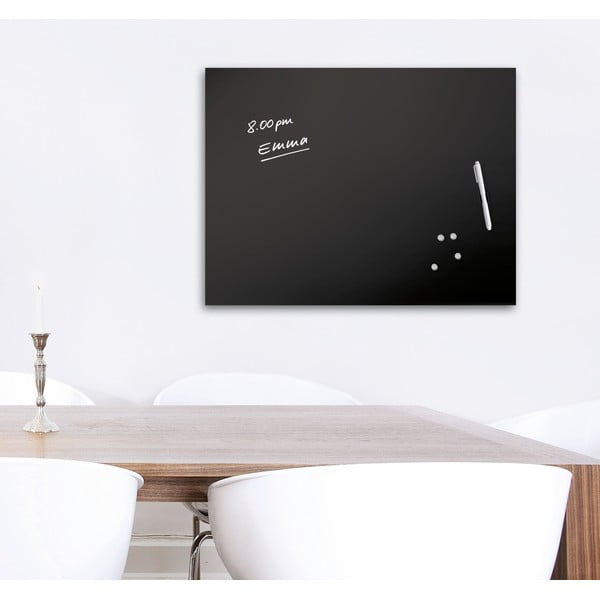 Magnetická tabuľa Memo Black, 60 x 80 cm