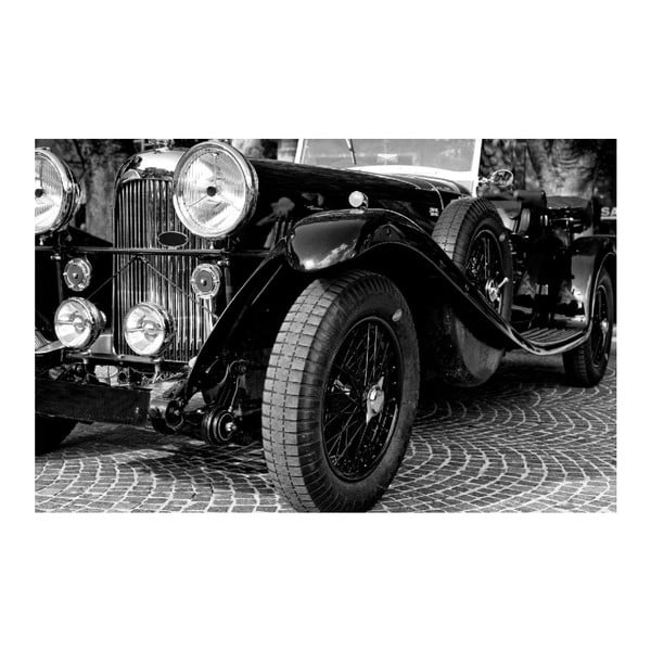 Obraz Black&White Vintage Car, 45 x 70 cm