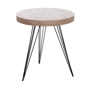 Stolík Retro Table Met, 55 cm
