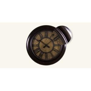 Nástenné hodiny Zlatý tepaný ciferník