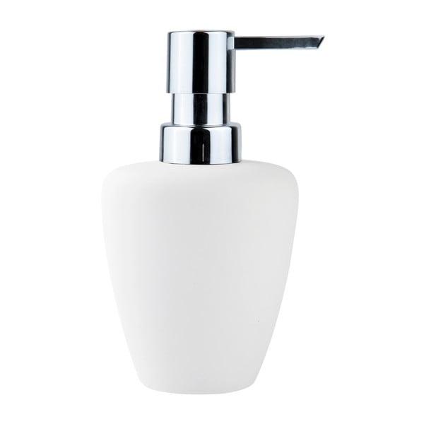 Biely dávkovač mydla Zone Soft