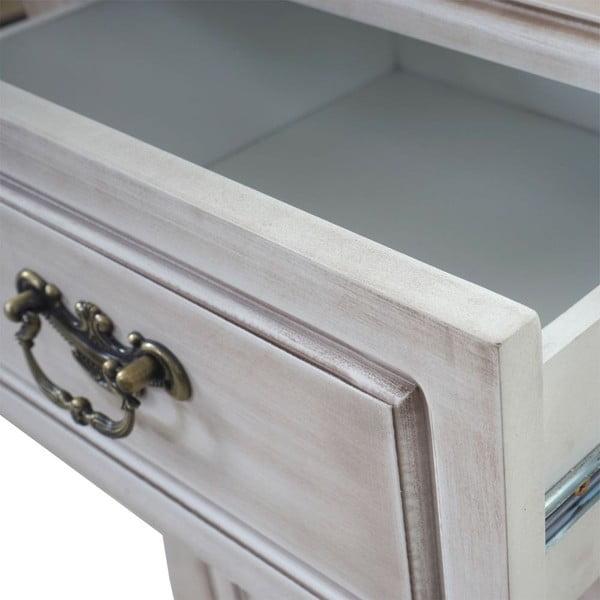 Skrinka s 3 zásuvkami Baroque Antique Grey