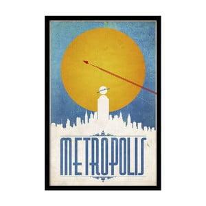 Plagát Metropolis, 35x30 cm