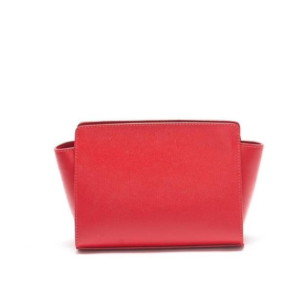 Kožená kabelka Mangotti 446, červená