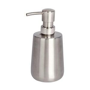 Oceľový dávkovač na mydlo v striebornej farbe Wenko Solid