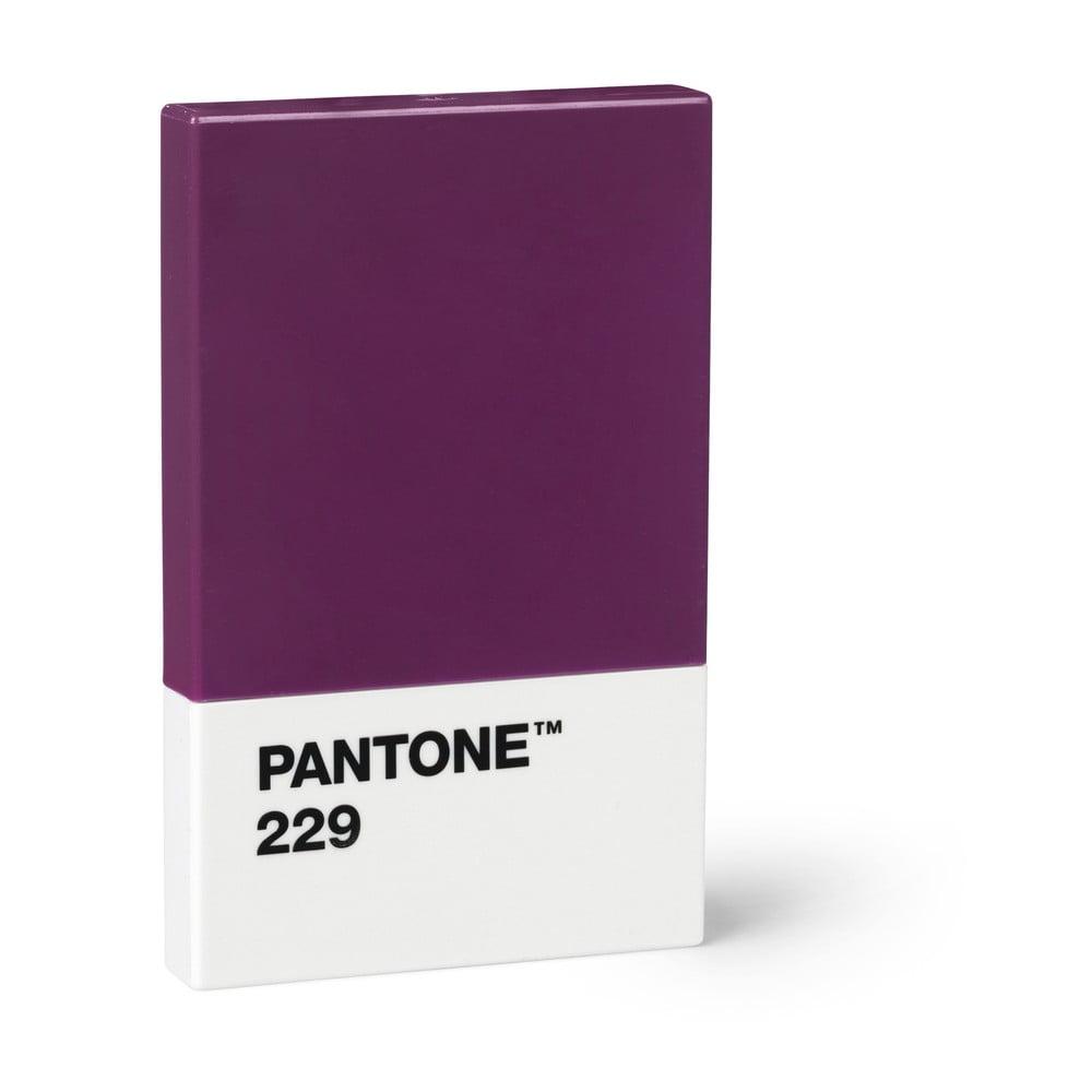 Fialové puzdro na vizitky Pantone