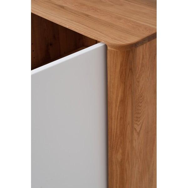 Skriňa z dubového dreva Gazzda Ena, 60x42x110cm