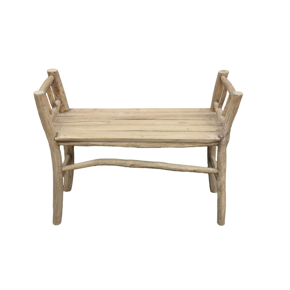 Lavica z teakového dreva HSM collection Bench Pank
