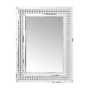 Nástenné zrkadlo Kare Design Crystals LED, 80 × 60 cm