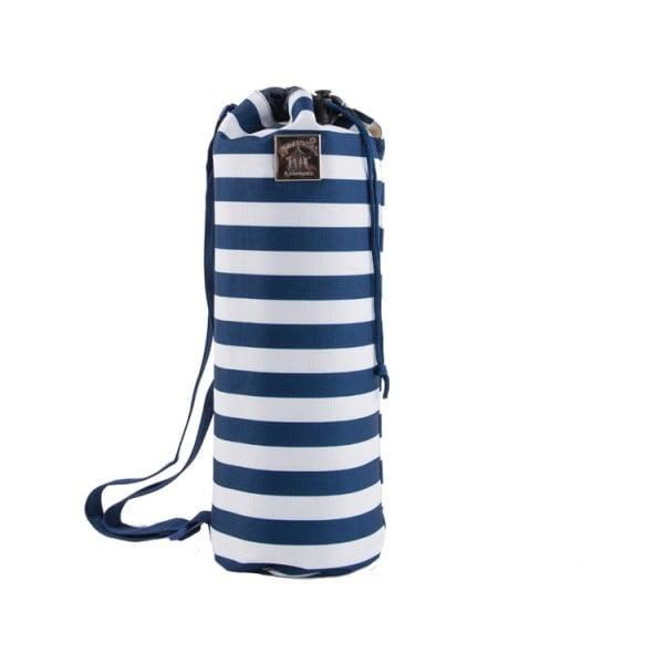 Tmavomodrá pikniková flísová deka Coastal Breton