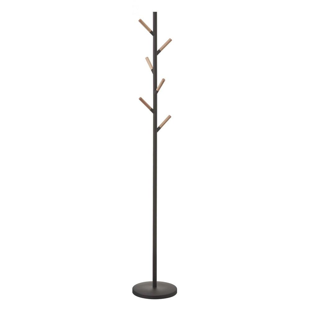 Čierny vešiak YAMAZAKI Plain Pole Hanger