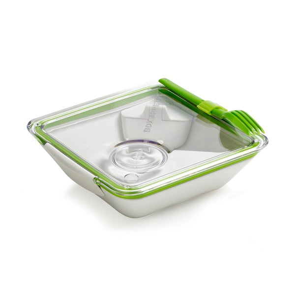 Bielo-zelený desiatový box Black Blum Apetit