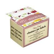 Sada 100 štítkov na označenie zaváranín Kitchen Craft Home Made Chutney