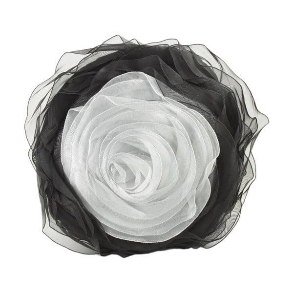 Textilná dekoračná ruža CIMC Silver Rose