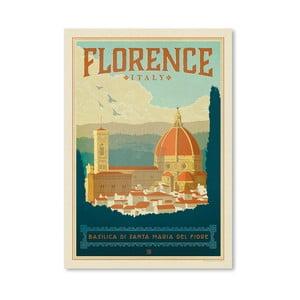 Plagát Americanflat Florence Italia, 42 x 30 cm
