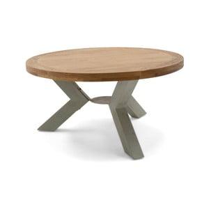 Okrúhly stôl z masívneho dreva VIDA Living Monroe, ø 160 cm