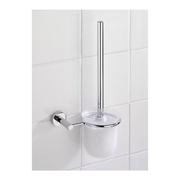 Samodržiaci stojan s toaletnou kefou Wenko Power-Loc Elegance