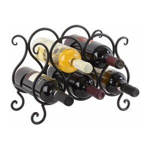Stojan na fľaše vína Rustic Metal