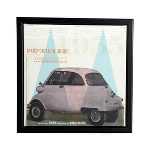 Rámik s obrázkom Transporttation, 25x25 cm