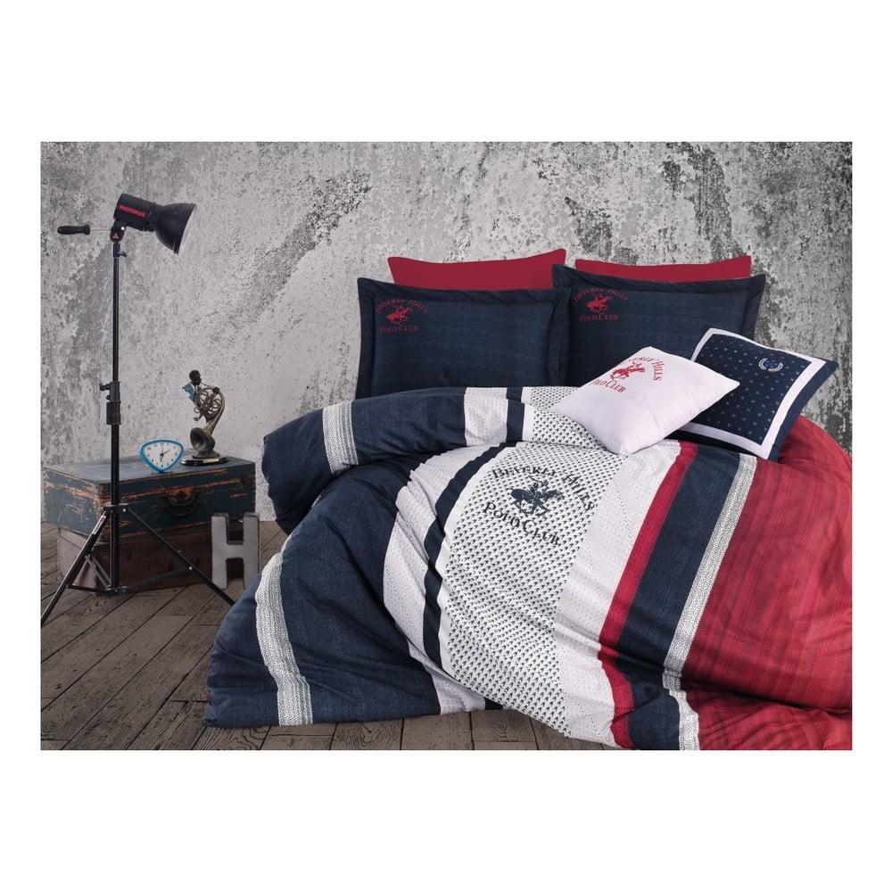 Obliečky na dvojlôžko s plachtou BHPC Charlotte, 200 × 220 cm