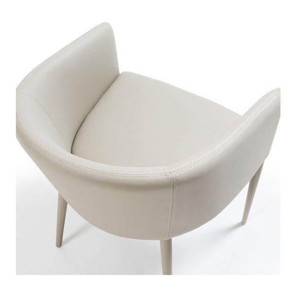 Svetlosivá jedálenská stolička La Forma Harmon