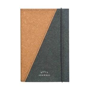 Zápisník z recyklovanej kože Gentlemen's Hardware Notebook