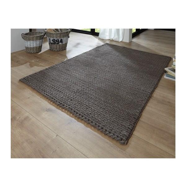 Koberec Circolare Brown, 170x240 cm