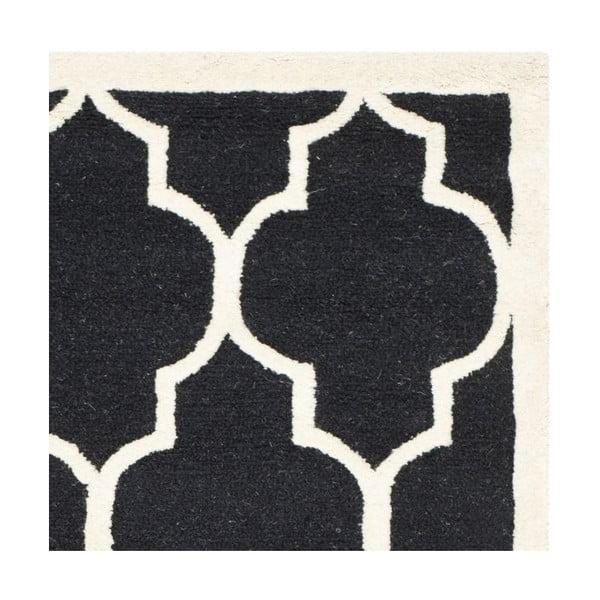 Koberec Everly 152x243 cm, černý