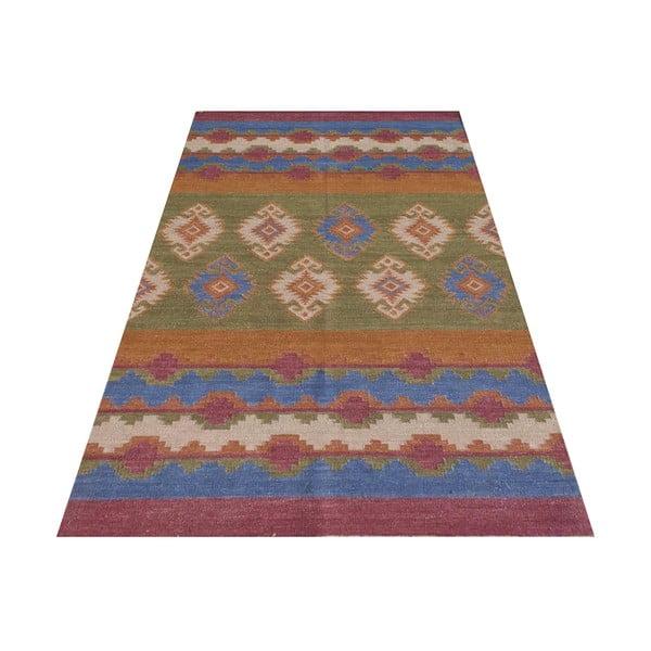 Vlnený koberec Kilim No.  709, 155x240 cm