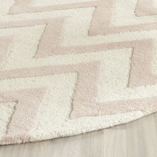 Vlnený koberec Stella Powder, 182x274 cm