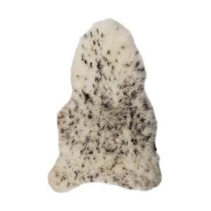 Čierno-biela ovčia kožušina s krátkym vlasom Spotted, 90 x 60 cm