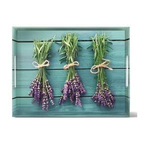 Podnos Classic French Lavender, 40x31 cm