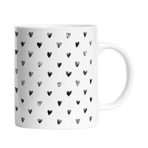 Keramický hrnček Simple Love, 330 ml