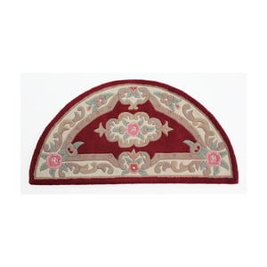 Koberec z vlny Flair Rugs Aubusson Red, 67 × 127 cm