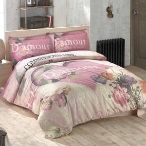 Obliečky s plachtou Romance, 200x220 cm