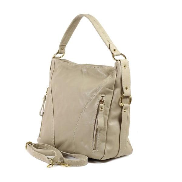 Kožená kabelka Linda, svetlá