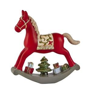 Dekoratívny hojdací kôň KJ Collection, 14 cm
