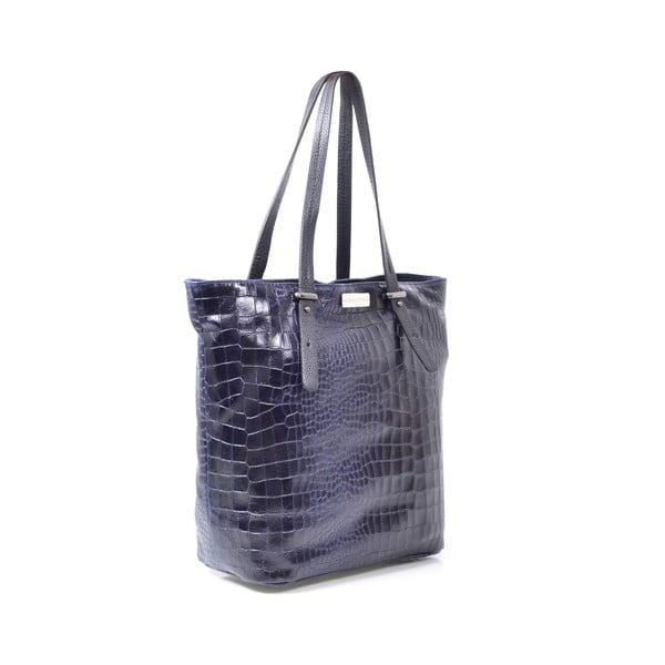 Kožená kabelka Irene, modrá